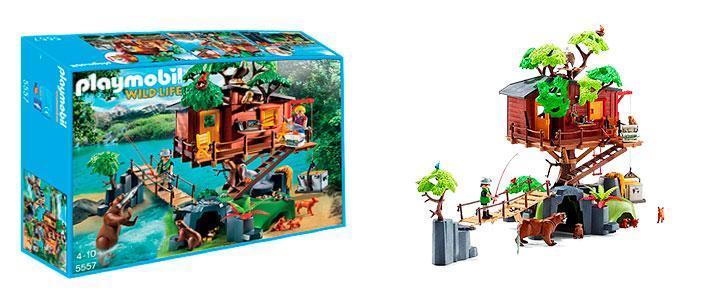 Casa en el árbol Playmobil