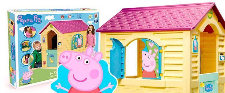 Casa de juguete para ninas Peppa Pig