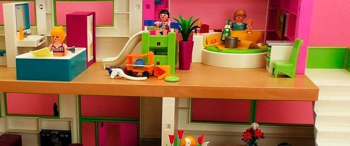 casa moderna playmobil por dentro planta superior