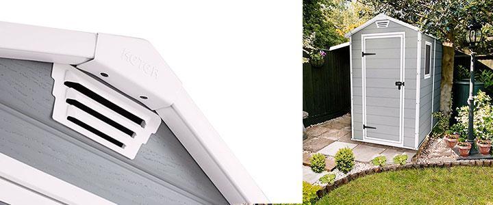 Casa para jardín exterior