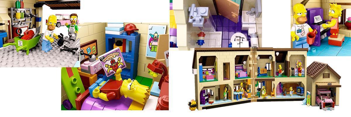 casa de los Simpson por dentro