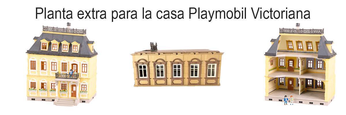 Casa victoriana Playmobil 5300 y 5301
