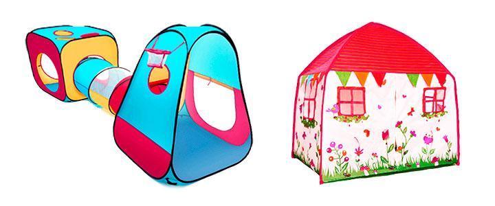 casitas infantiles de tela baratas