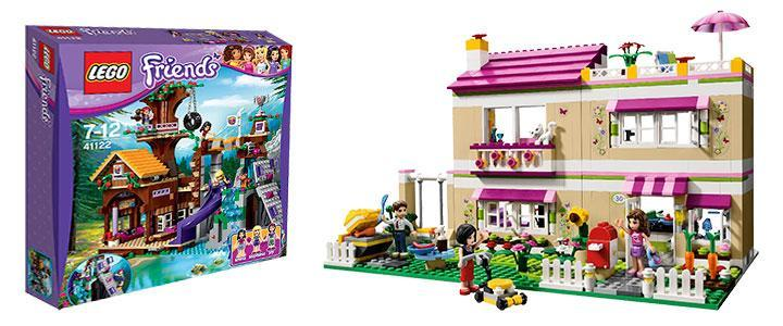 Casas Lego Friends