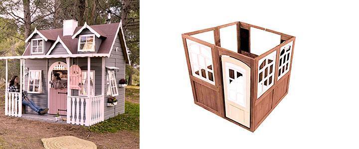 Casetas para niños de madera