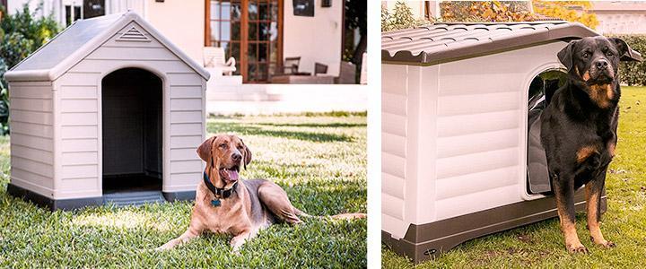 Casetas para perros gigantes