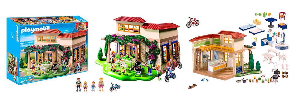 Casita de verano y vacaciones Playmobil 4587