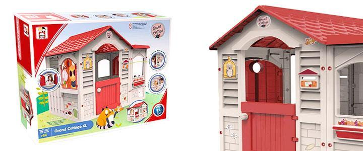 Casita infantil exterior Grand Cottage XL Chicos