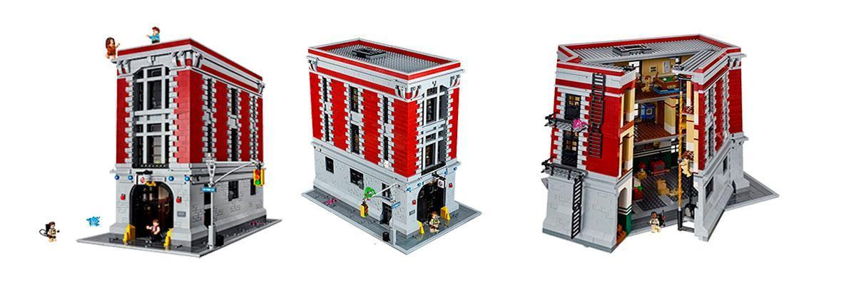 Casa cuartel cazafantasmas Lego