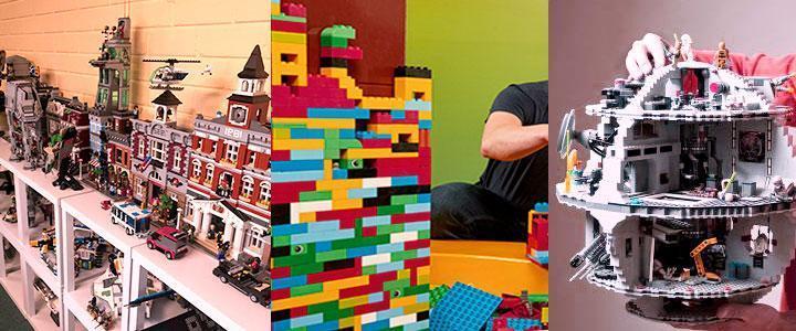 Juguetes de contrucción Lego para adultos