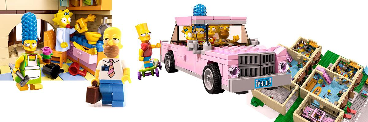 Lego 71006, Evergreen Terrace 742 en Springfield