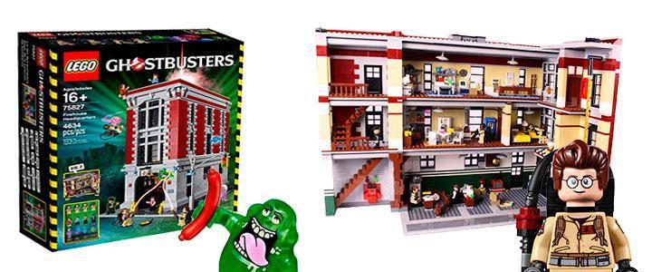 Lego Cazafantasmas Ghostbusters 75827