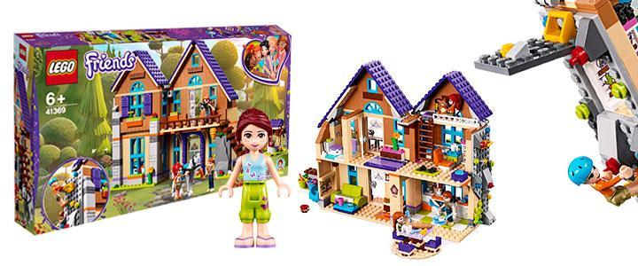 Lego friends casa de Mia