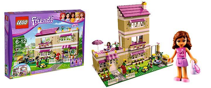Lego friends la casa de Olivia